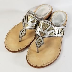 Sam Edelman Leather Treva Thong Sandals 6M